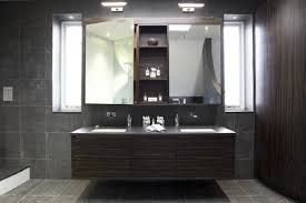 Double Bathroom Vanity with Lights
