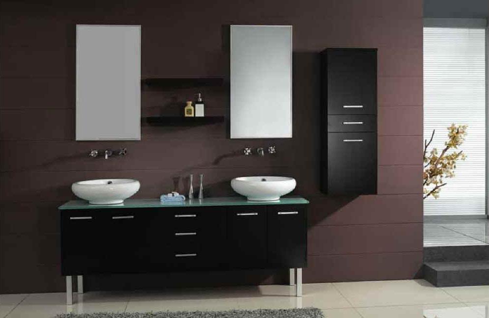 Double Sink Bathroom Vanities Pictures