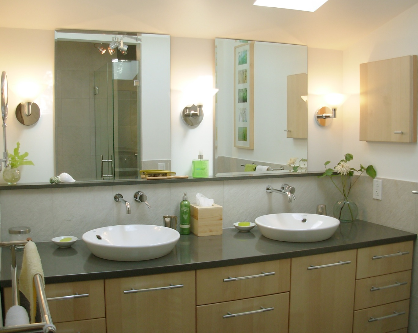 Double Sink Bathroom Vanity 6201