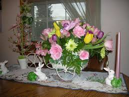 Table Centerpiece for Easter