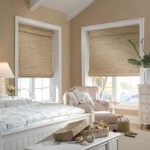Fabric Blinds in the Bathroom