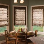 Fabric Blinds in the Kitchen