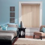 Fabric Vertical Blinds for Bedroom