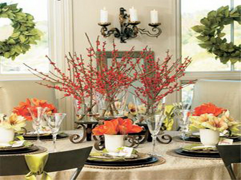 Top 21 Ideas for the Dining Table Centerpiece Qnud : Festive Centerpieces from qnud.com size 800 x 600 jpeg 149kB