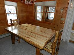 Finished Rustic Dining Table