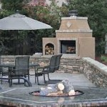 Fire Pit by the Patio