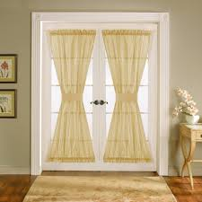 French Door Window Curtains