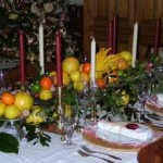 Fruit Centerpieces for the Dining Room