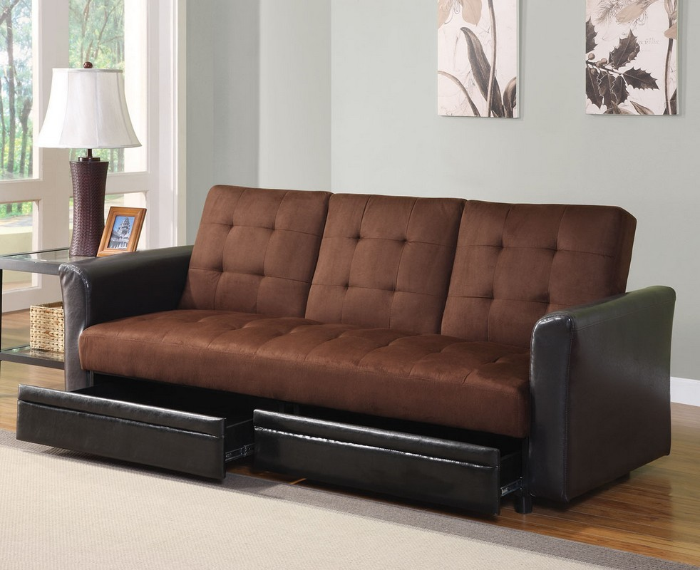 Top 15 Ideas And Designs For Futon Beds In 2014 on rustic leather sleeper sofa