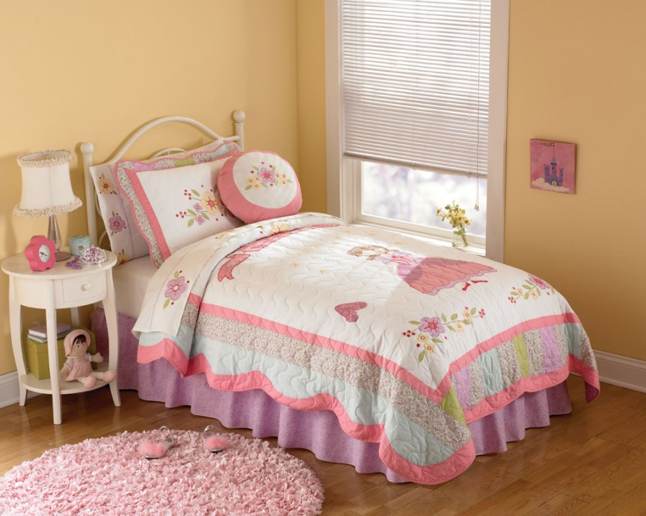Girls Bedding Ideas