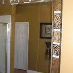 Glass Border Bathroom Mirrors