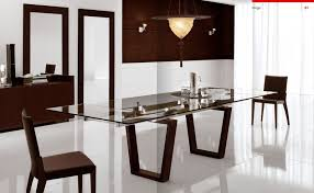 Glass Dining Room Table for Two