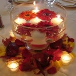 Glass Dining Table Centerpiece