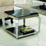 Glass Living Room End Tables