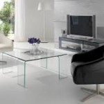 Glass Square Coffee Table