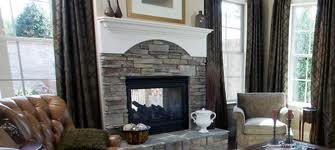 Grey Indoor Fireplace