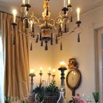 High Dining Room Chandelier