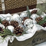 Holiday Dining Room Centerpieces