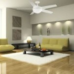 Home Ceiling Fan with Light