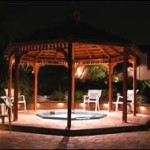 Hot Tub in a Gazebo