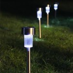 Illuminated Outdoor Solar Lights