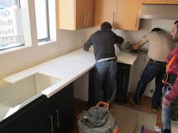 Installing Kitchen Countertops