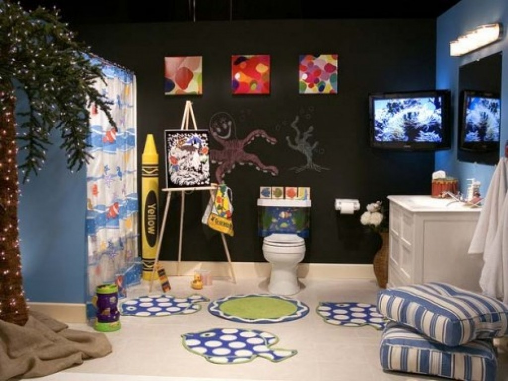 Kid Bathroom Ideas