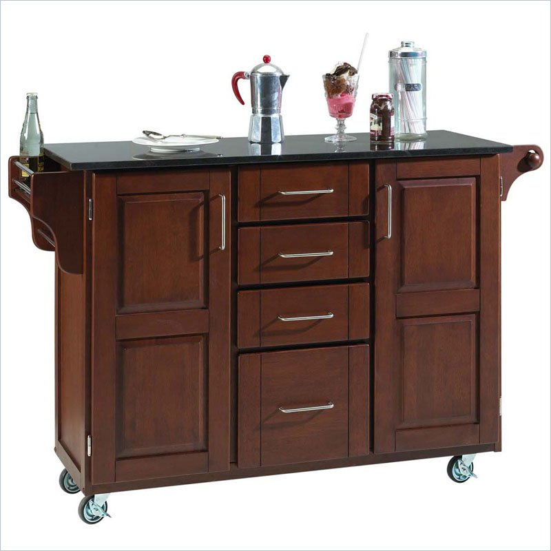 Brown Kitchen Island Carts