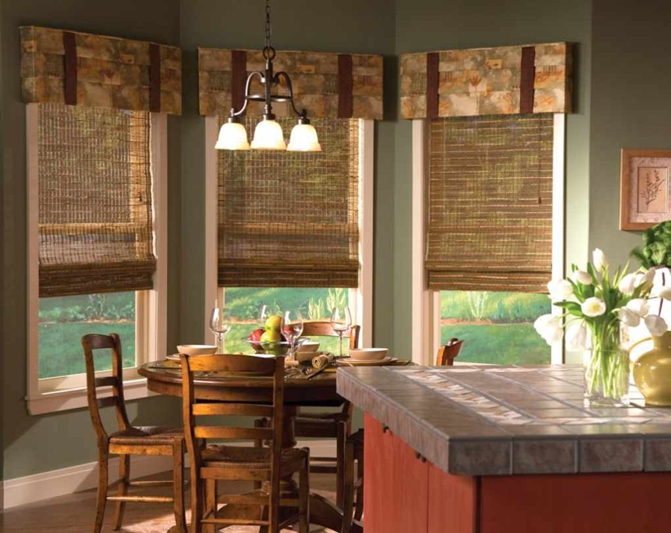 Rustic burlap window treatments - Top 25 Ideas To Spruce Up The Kitchen Decor In 2014 Qnud