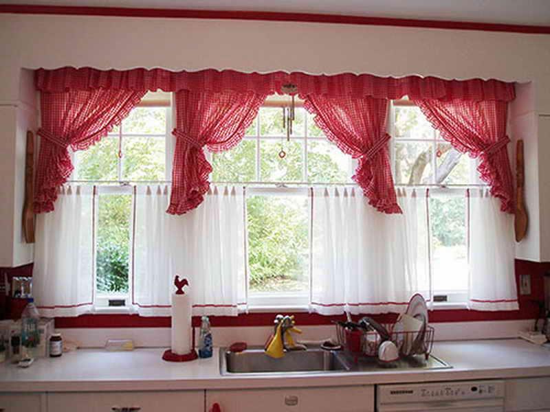 kitchen window curtains - Kitchen Window Curtains