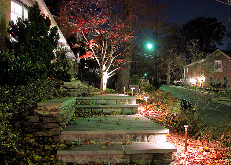 LED Lights for the Front Pathway