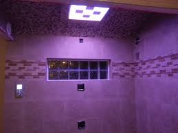 LED Lights in the Shower