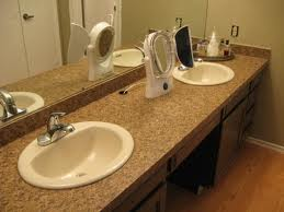 Laminate Bathroom Counters