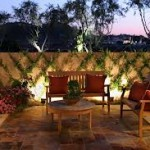 Landscape Lighting for the Patio