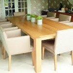 Large Oak Dining Tables