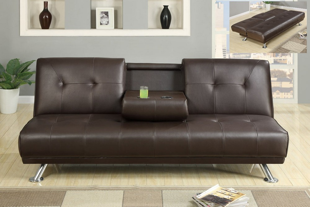 Leather Futon Beds