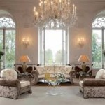 Living Room Crystal Chandeliers