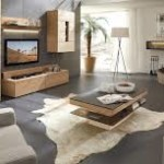 Living Room Wooden Coffee Table