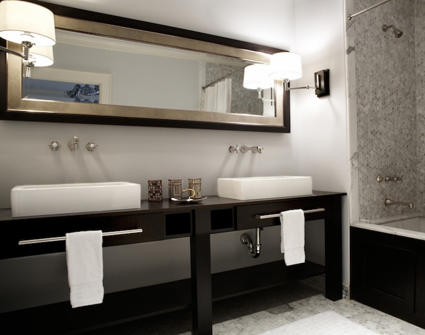 contemporary double sink bathroom vanity with cabinets () -  modern double sink bathroom vanities luxurious double sink bathroomvanities