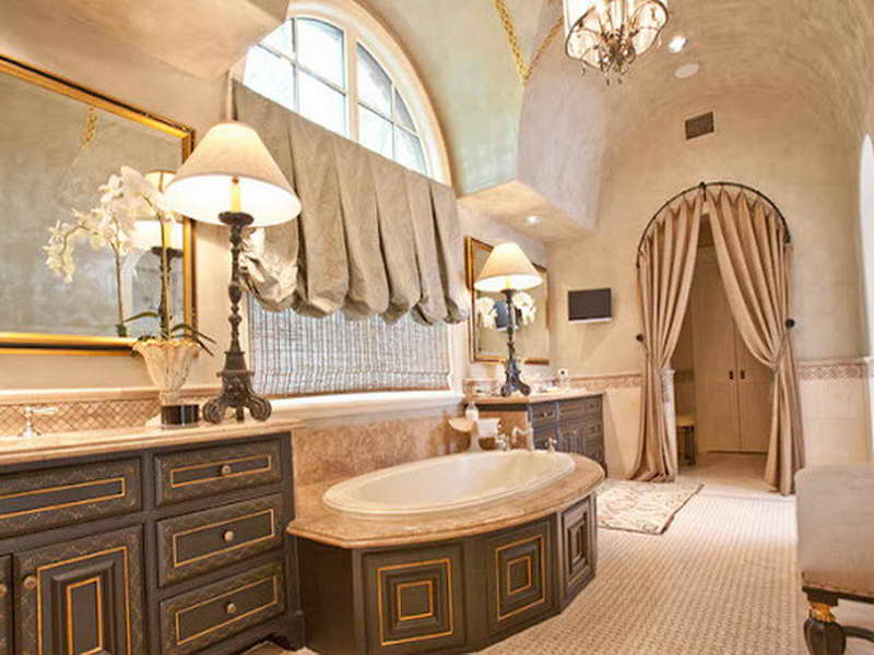 Luxury small bathroom design ideas 6706 for Small luxury bathrooms ideas