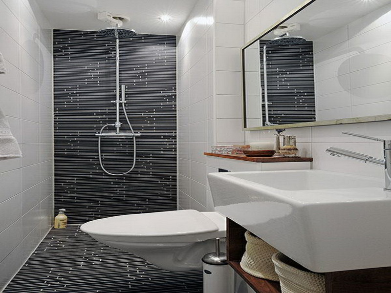 Small bathroom ideas qnud for Great small bathroom designs