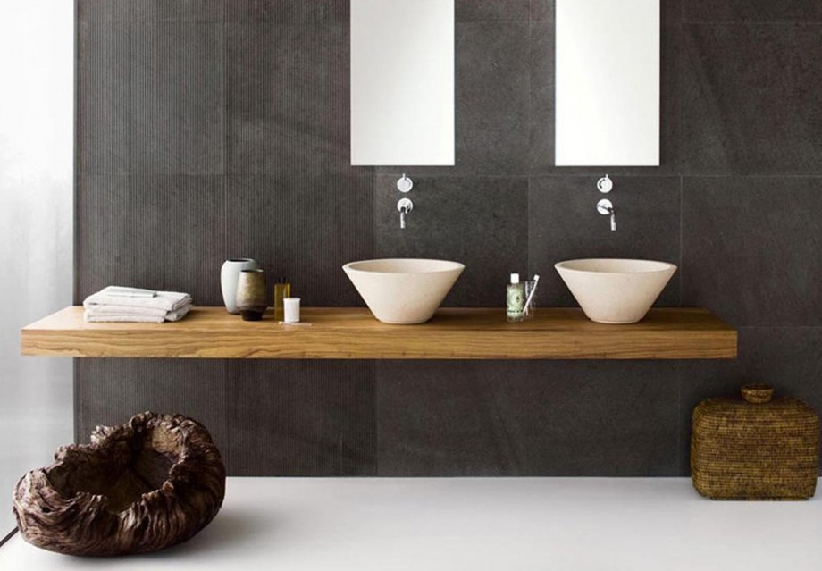 Twin Bathroom Sinks : 15 Must See Double Sink Bathroom Vanities in 2014 - Qnud