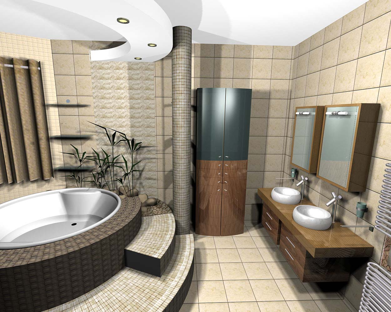 Modern Bathroom Designs 6476