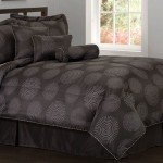 Black Modern Bedding
