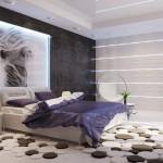 Modern Bedroom Design for a Loft