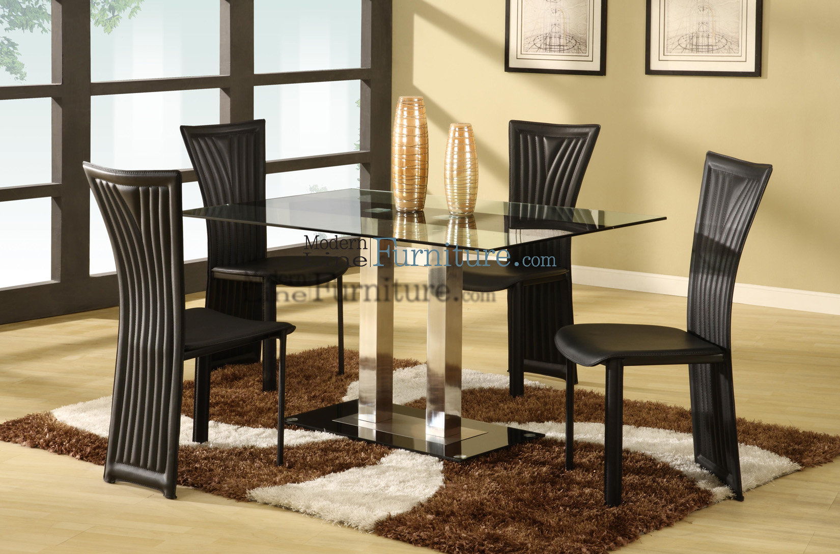 return to modern dining room sets