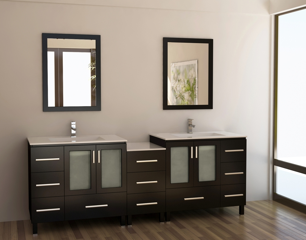 Modern Double Sink Bathroom Vanity Ideas: 15 Must See Double Sink Bathroom Vanities In 2014