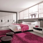 Modern Pink Bedroom Design
