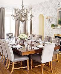 Silver Dining Chandelier