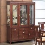 Oak Dining Room Hutch